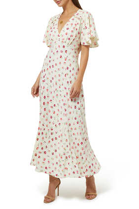 Bessie Floral Maxi Dress