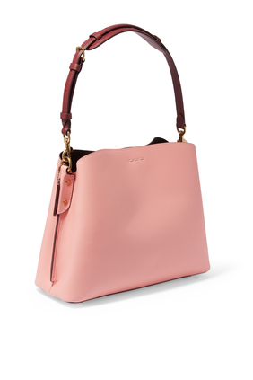 Willow Pebble Leather Shoulder Bag