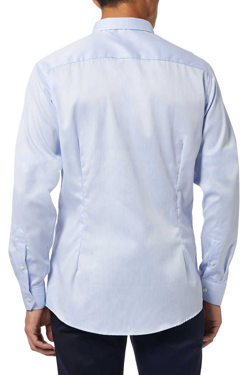 Super Slim Fit Signature Twill Shirt image number 3