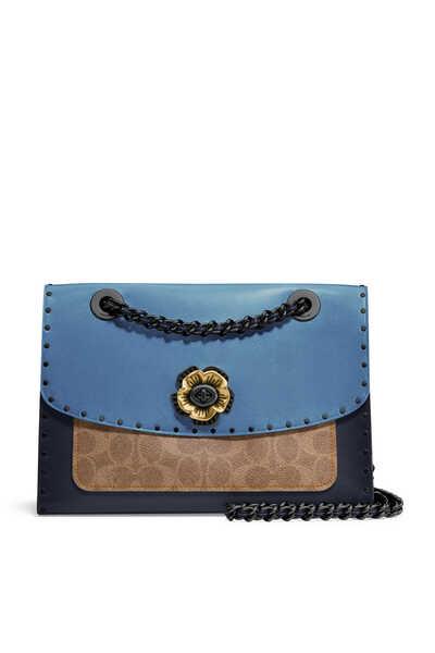 x Selena Gomez Parker Snakeskin Leather Bag