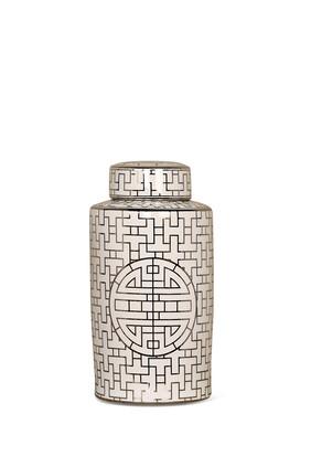 Metallic Lid Jar