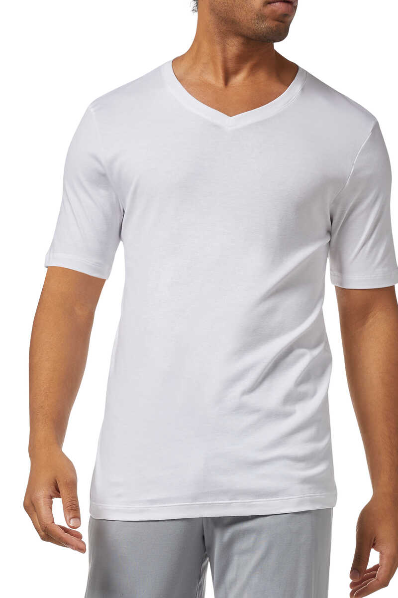 Sea Island Cotton T-Shirt image number 1