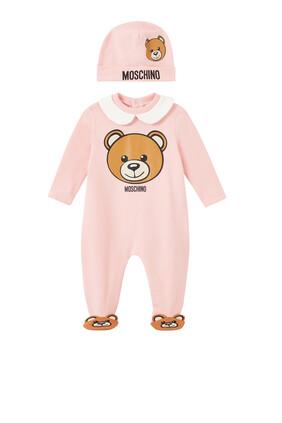 Bear Face Pyjama Set