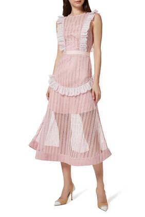 Portrait Lace Dress