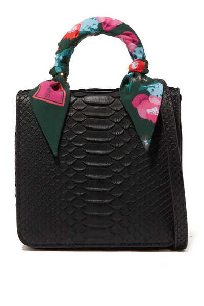 Square F Baby Top Handle Bag