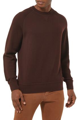 Knit Long Sleeves Sweatshirt