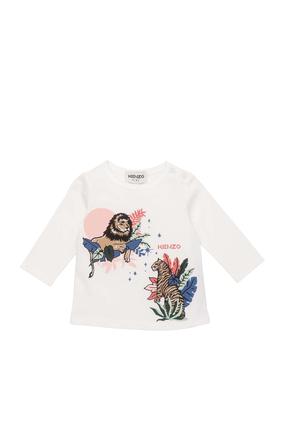 Lion Print Shirt