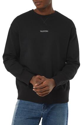 Logo Print Crewneck Sweatshirt