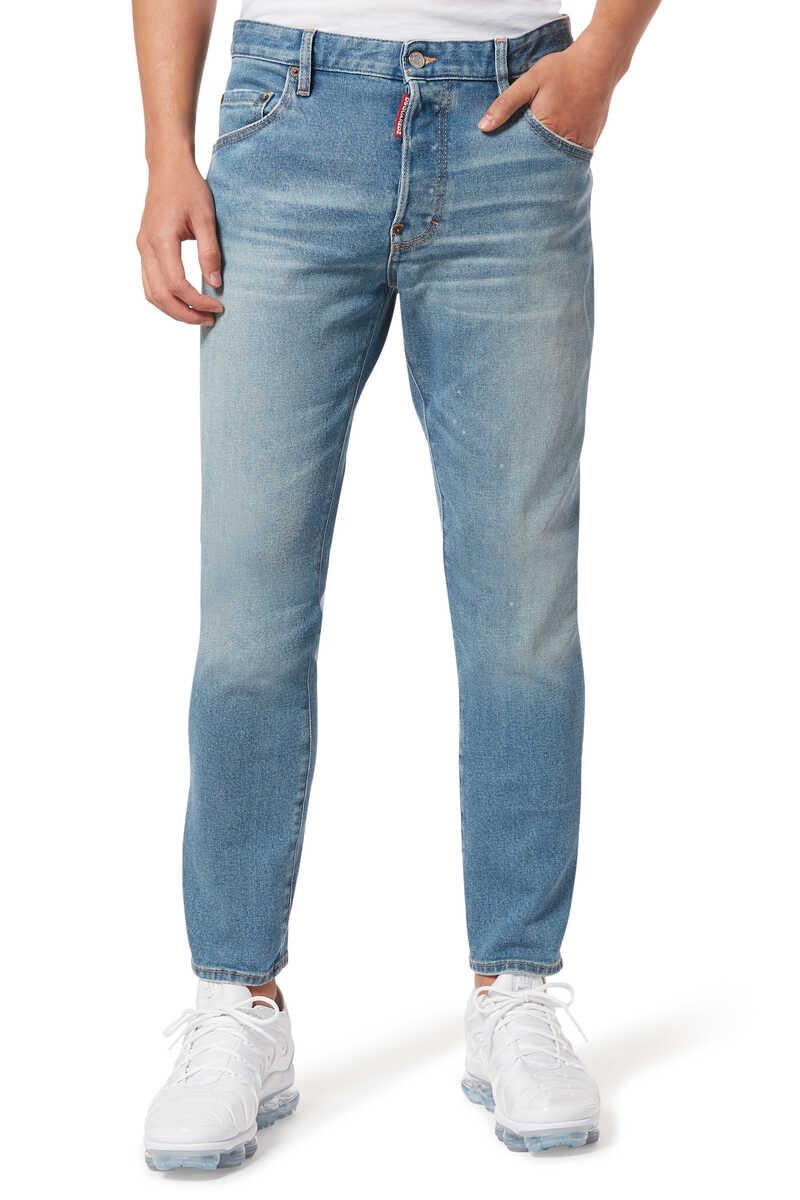 Skater Light Dusty Denim Jeans image number 1
