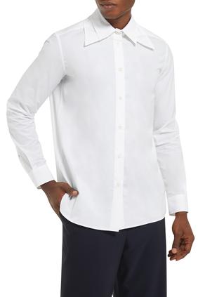 Double Collar Cotton Shirt