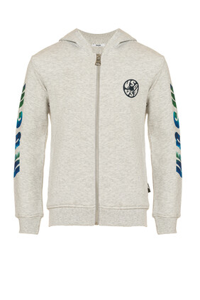 Logo Hooded Jacket