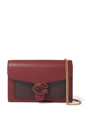 Tabby Chain Clutch Bag