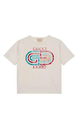 Retro Logo Cotton T-Shirt