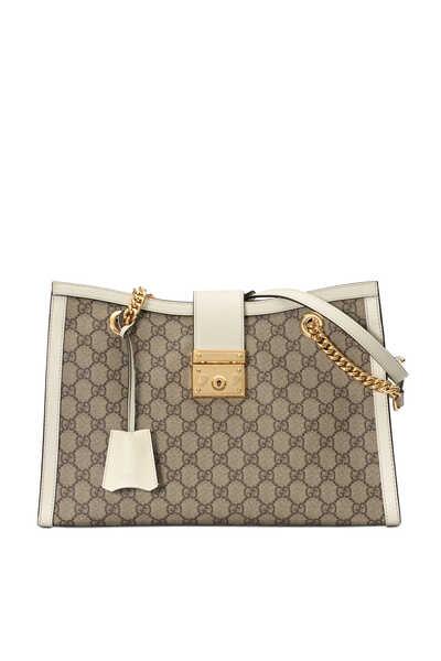Padlock GG Medium Shoulder Bag